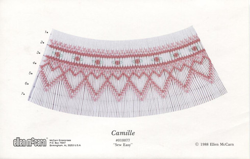 Smocking Plate Camille by Ellen McCarn