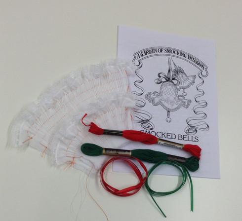 Smocked Christmas Bells kit
