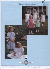 Basic Square Yoke Smocked Dress Pattern by Chery Williams