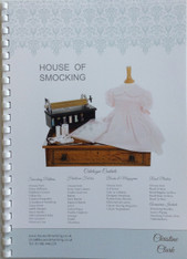 Catalogue with order form for House of Smocking stock