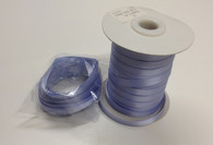 Double faced satin ribbon in Lavender 7mm x 10 metre length