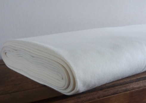 Cream Cashmere & Wool Blanketing 150 cm wide Dry clean (430gms)