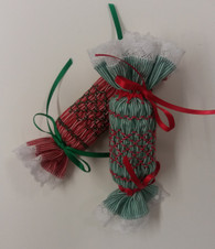 Ready to Smock Mini Christmas Cracker Kits