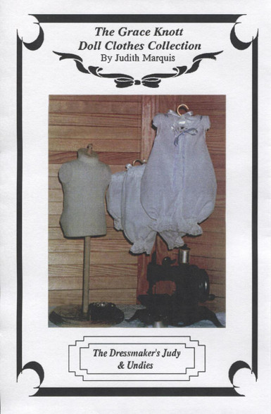 Dressmaker's Doll Judy and Underwear pattern by Judith Marquis