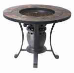 "Four Seasons Courtyard, 28"", Gas Fire Pit Table"
