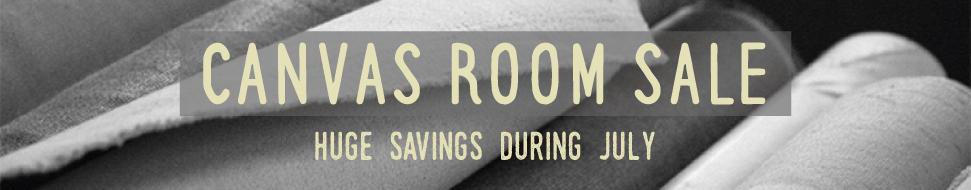 Canvas Room Sale - Huge Savings During July