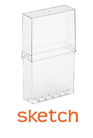 Copic Sketch Marker Empty Case - Holds 12