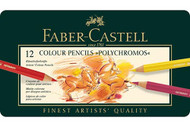 Faber Castell Polychromos Artist Coloured Pencils 12 Set