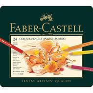 Faber Castell Polychromos Artist Coloured Pencils 24 Set