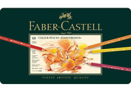 Faber Castell Polychromos Artist Coloured Pencils 60 Set