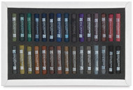 Art Spectrum Artists' Soft Pastels Set 30 Darks Card Box