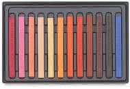 Conte A Paris  Flat Plastic Box Set Crayons - 12 Portrait Colours