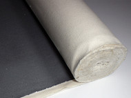 Black Primed Canvas Roll