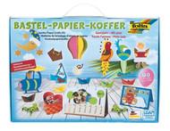 Jumbo Paper Crafts Kit - Bastel-Papier-Koffer by Folio Bringmann
