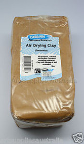 Derivan Air Drying Terracotta Clay - 1kg