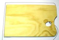 Large Wooden Rectangle Palette - 30cm x 40cm