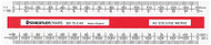 Staedtler Mars Oval Scale Ruler 150mm (AS1212-3)
