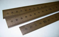 Stainless Steel Rulers - 30cm