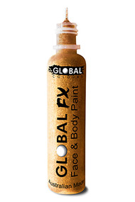 Global FX Face & Body Paint 36ml - Holographic Gold
