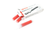 Rotring Ink Cartridge 3pkt - Red