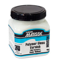 Matisse Poly Gloss Varnish & Gloss Medium (Water-Based) MM7