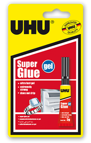 UHU Super Glue Gel - 3g