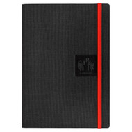 Caran D'Ache Notebook Canvas Cover A5 Blank Pages - Black   |  454.509