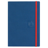 Caran D'Ache Notebook Canvas Cover A5 Blank Pages - Blue   |  454.660