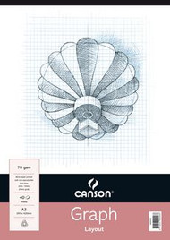 Canson 5mm Graph Pad - A3