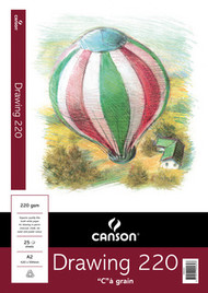 Canson 220GSM Drawing Pad - A2