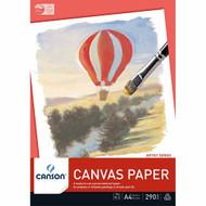 Canson 290GMS Canvas Paper Pad - A3