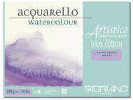 Fabriano Watercolour 200GSM Rough Block - 23 x 30.5cm