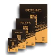 Fabriano Schizzi A4 Glue Bound Plain