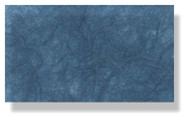 Mulberry Silk Paper With Fibres - Medium Blue