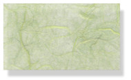 Mulberry Silk Paper With Fibres - Mint