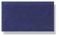 Mulberry Silk Paper With Fibres - Royal Blue