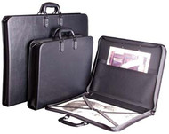 Florence Portfolio with Pocket & Elastic Strap - A0