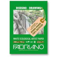 Fabriano White Ecological Artist Pad 200GSM - 21cm x 29.7cm