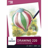 Canson 220GSM Drawing Pad - A3