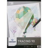 Canson 90GSM Tracing Pad - A2