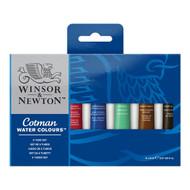 Winsor & Newton Cotman Watercolour Set of 6 Tubes