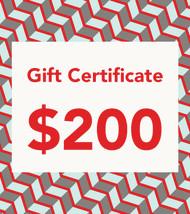 $200 Gift Vouchers