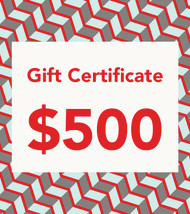$500 Gift Vouchers