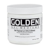 Golden Gel Top Coat with UVLS (Gloss) 236ml