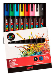 8 Assorted Uni Posca Medium Colours