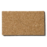 Natural Cork Sheets, Buffed