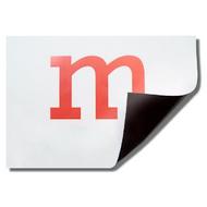 Permaflex Magnetic Foil, Paper Coated, White