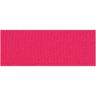 Rico Design Fabric Ribbon - Neon Pink