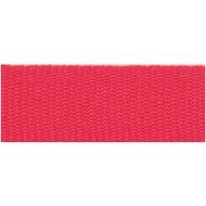 Rico Design Fabric Ribbon - Neon Red