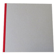 "Pasteboard Cover Sketchbook 120gsm 132pgs - 29cm x 29cm/11.4"" x 11.4"" - Red"
